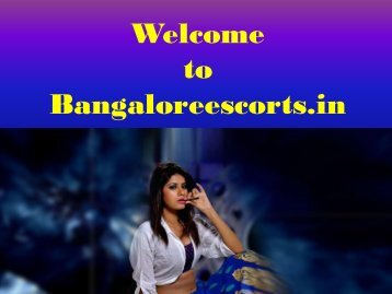 Independent Escorts in Bangalore