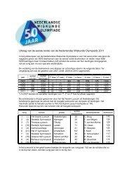 Verslag - Nederlandse Wiskunde Olympiade