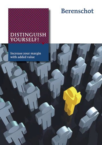 DISTINGUISH YOURSELF! - Business Strategies