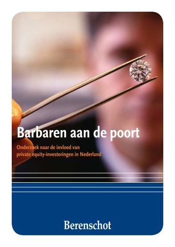 Barbaren aan de poort - Business Strategies