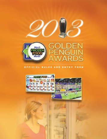 Golden Penguin Rules and Entry Form - NFRA
