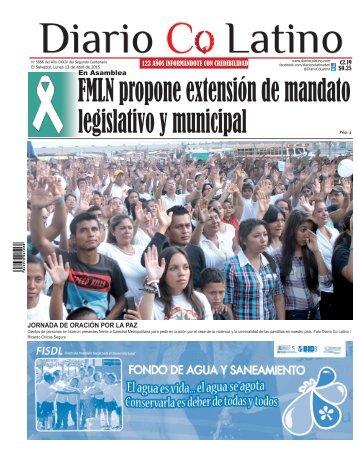 Edición 13 de Abril de 2015