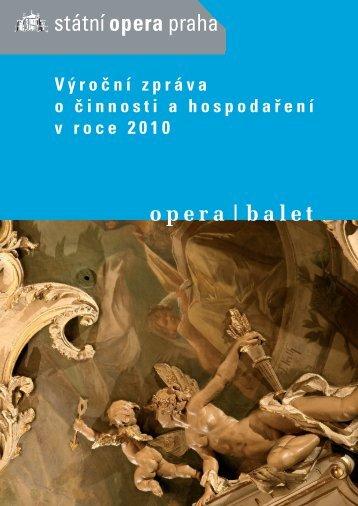 Výroční zpráva o činnosti a hospodaření Státní ... - Národní divadlo