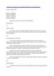 Zákon o svobodném poskytování informací - Národní divadlo