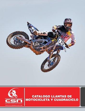 CATALOGO LLANTAS DE MOTOCICLETA Y CUADRACICLO