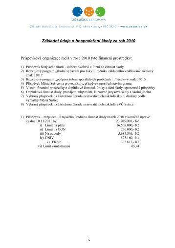 pdf 249kB - ZŠ Sušice, Lerchova ulice