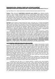 Studenti IŽP o závlahách - Katedra hydromeliorací a krajinného ...