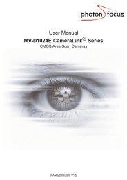 User Manual MV-D1024E CameraLink ® Series - CYLOD