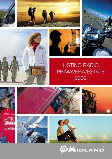 LISTINO RADIO Primavera/estate 2009 - Arscolor CMS