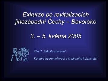 Přednáška 5. - Katedra hydromeliorací a krajinného inženýrství