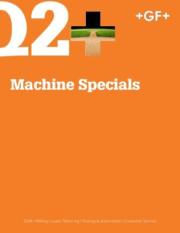 Q2 Machine Specials