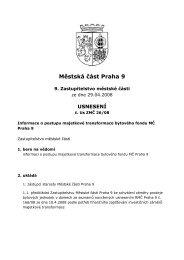 Usnesení - Praha 9