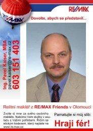 Můj letáček a dopis potenciálnímu klientovi z inzerce - Katalog