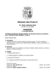 689/09 - Praha 9