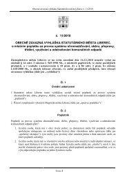 č. 11/2010 OBECNĚ ZÁVAZNÁ VYHLÁŠKA STATUTÁRNÍHO ...