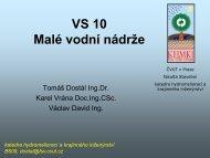 Přednáška 1 - Katedra hydromeliorací a krajinného inženýrství - ČVUT