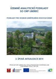 Podklady pro rozbor udržitelného rozvoje území - Statutární město ...