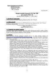 Rozpis soutěží řízených STK Stč ČBF pro sezónu 2011-12