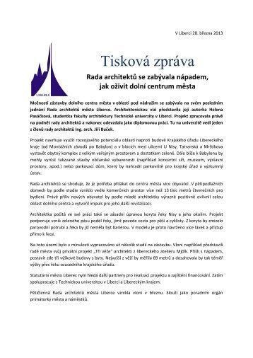 Rada architektů - dolní centrum.pdf - Statutární město Liberec