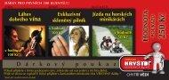 D á r k o v ý p o u k a z ODNOTA POUKAZU - Katalog