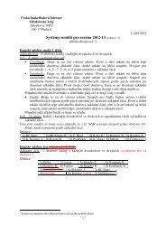 Systémy soutěží pro sezónu 2012-13 (změna č. 3)