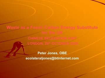 to watch the presentation - Ecolateral by Peter Jones