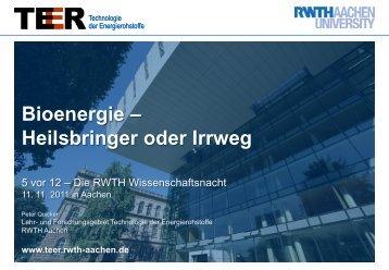 CO - Lehr- und Forschungsgebiet Technologie der Energierohstoffe