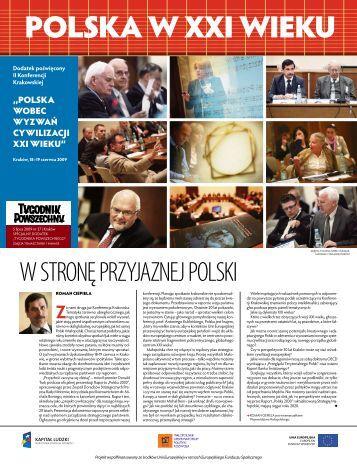 polska W XXi Wieku - Małopolskie Obserwatoria Rozwoju ...