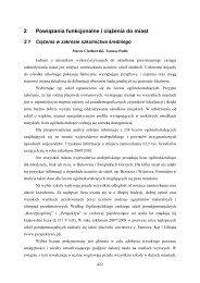 Powiązania funkcjonalne i ciążenia do miast - Małopolskie ...