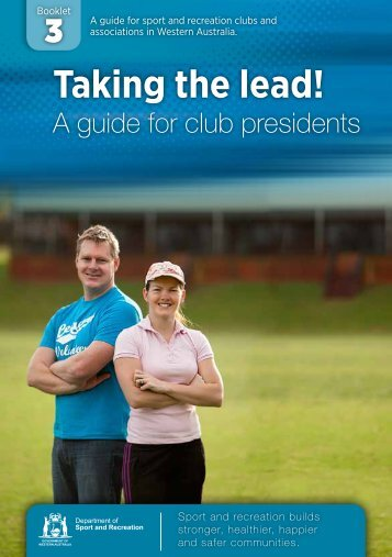 Download Taking the lead, a guide for club presidents ... - ClubsOnline