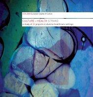 Cork 2005 Culture & Health Strand Publication - Arts & Health