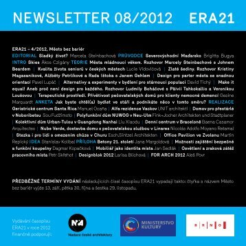 newsletter 08/2012 - Era21