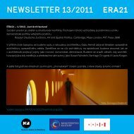 newsletter 13/2011 - Era21