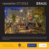 newsletter 07/2013 - Era21