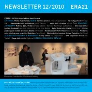 newsletter 12/2010 - Era21