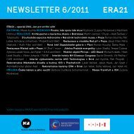 newsletter 6/2011 - Era21