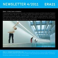 newsletter 4/2011 - Era21