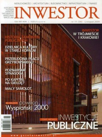 nieruchümüści | architektura | buüüwniľtwü | infhastruktura | finanse