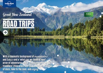 Great New Zealand Road Trips - Lonely Planet - Europcar