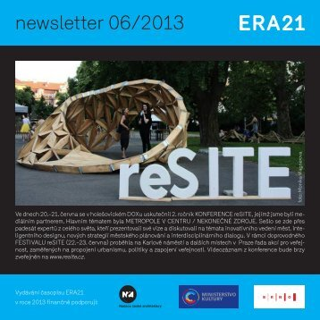 newsletter 06/2013 - Era21