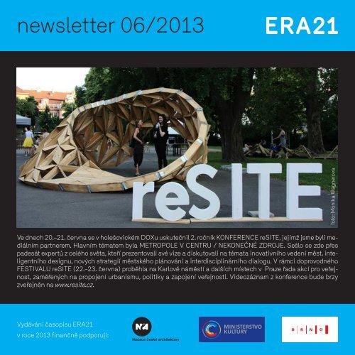 newsletter 06/2013 - Era21