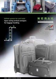 NERAK systems for unit loads Space saving ... - German-Pavilion