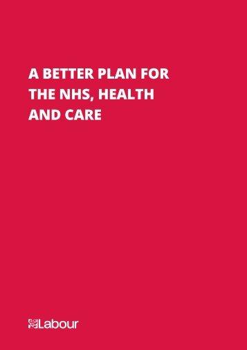 Labour-health-manifesto