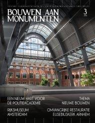 Bouwen aan Monumenten #3 2010, p 8-33 + cover - atelier PRO