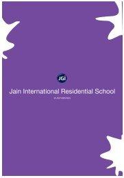 Application Form - Jain International Residential School