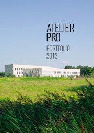 PORTFOLIO 2013 - atelier PRO