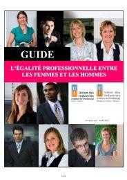 Guide égalité professionnelle Hommes Femmes