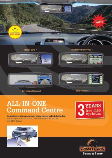 ALL-IN-ONE Command Centre - Pantera Command Centre