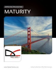 PMI Based Maturity Assessment - White Paper - Digital Celerity
