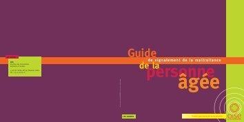 Guide du signalement de la maltraitance (pdf - 738 Ko)